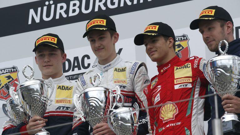 Sauber Junior F4 drivers triumph at the Nurburgring