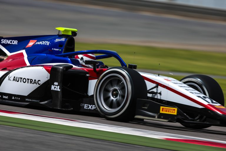 F2 test form pleases Charouz Racing System in Bahrain