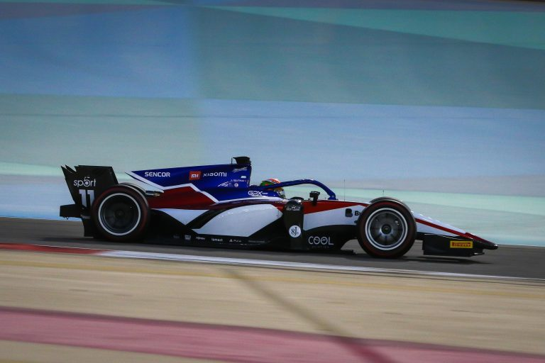F2 Virtual Racing pace is rewarded with a podium
