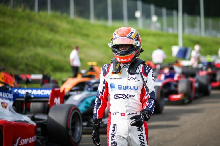 Great news for the Charouz team: Delétraz finished second in the F2 race in Austria!
