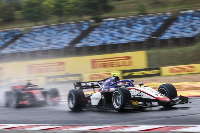 The rainy qualifications of F2 and F3: Delétraz and Schumacher have points at their fingertips