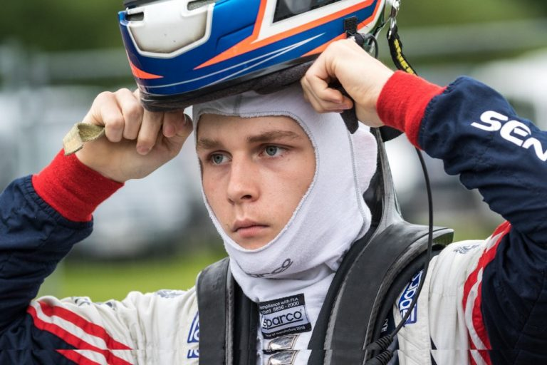 The first F3 race in Austria: Staněk was mainly gaining experience