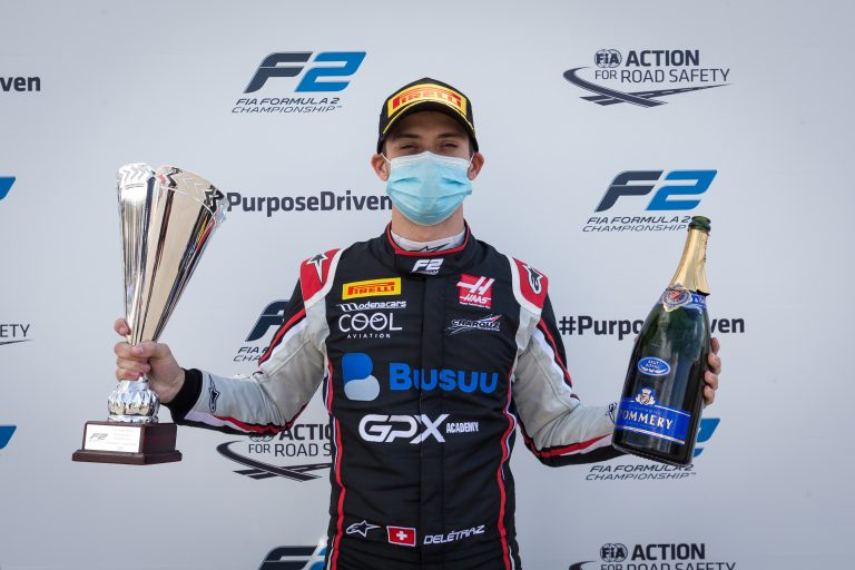 The great Delétraz at Silverstone: Another podium finish for Charouz Racing!