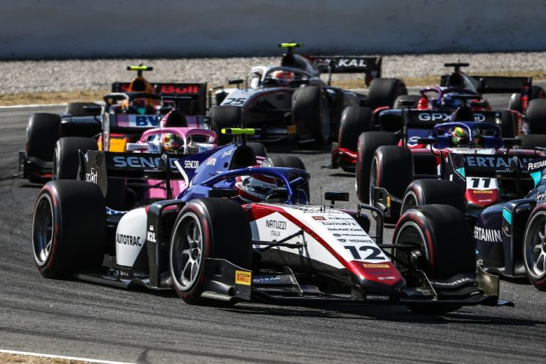 F2 in Barcelona: Delétraz and Piquet both scored points