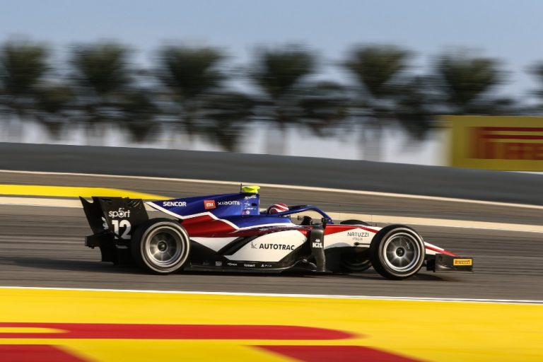 F2 reached the end of the season in Barhain: Piquet was the only one to return with points