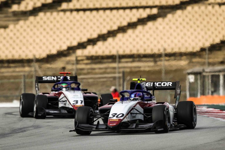 Charouz Racing System confirms its good potential in the FIA Formula 3 Championship 2021 tests at Barcelona