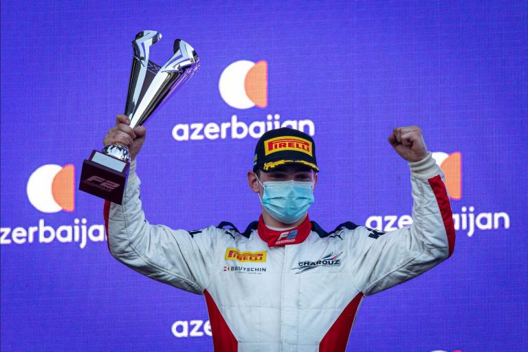 Second FIA Formula 2 Championship podium of the year for Charouz Racing System in Baku