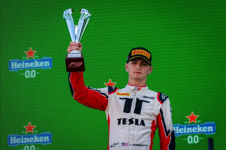 Charouz Racing System scores again good points and a podium finish in the FIA Formula 3's penultimate round
